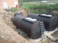 Монтаж резервуара подземного