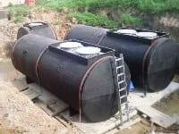 Подземные резервуары