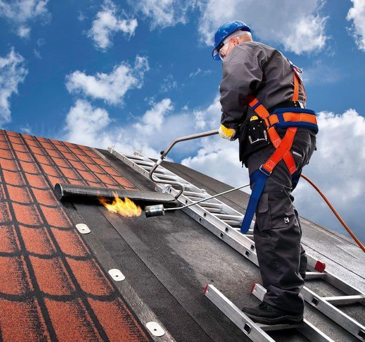 Mehka streha ruberoid
